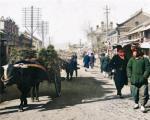 1933年的龙井市街头照片